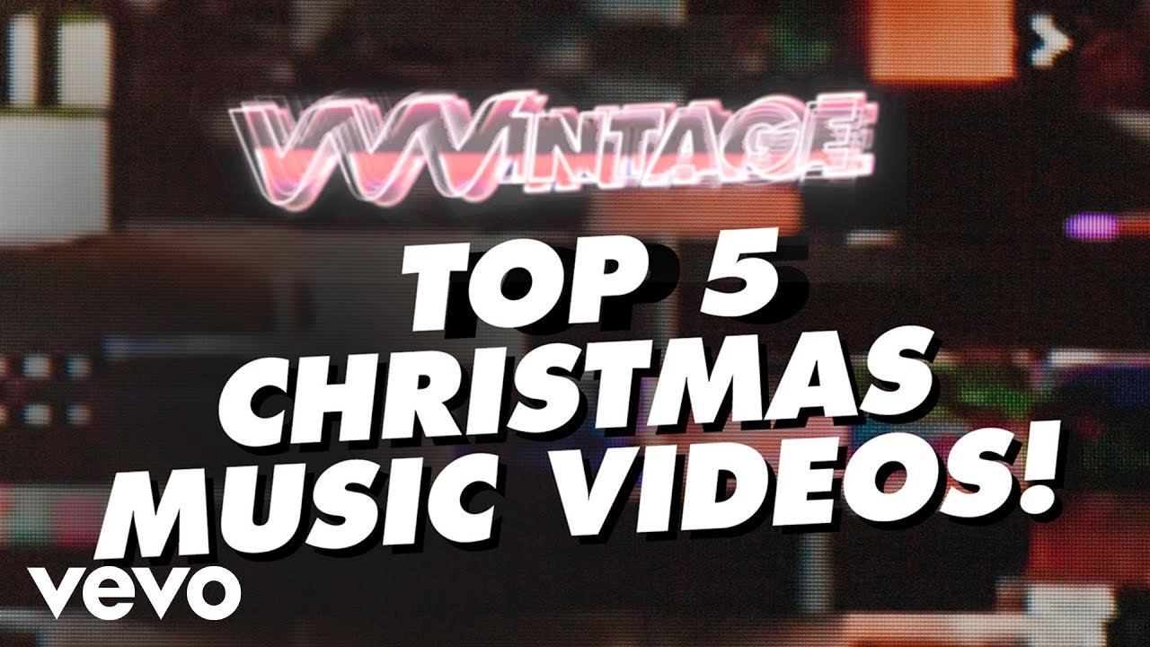 vvvintage top 5 christmas music videos ft mariah carey run dmc shakin stevens youtube - Best Christmas Music Videos