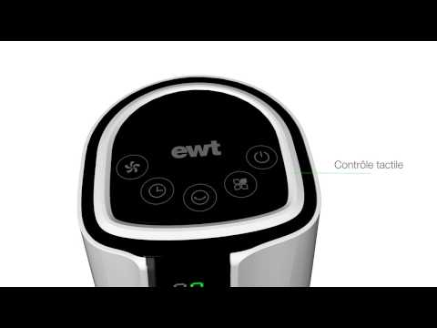 Ventilateur colonne TURBULENCE - EWT