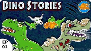 Dino Stories l the jurassic l Dinosaur Story For Children l Ep 01