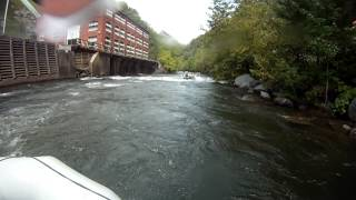 High Country Adventures - Middle Ocoee Ending rapids - GoPro HD