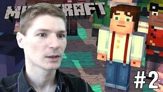 И ВОССТАЛ ИССУШИТЕЛЬ! #2 МАЙНКРАФТ. СТОРИ МОД. Прохождение Minecraft Story Mode