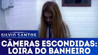A Loira do Banheiro - The Bloody Mary Prank   Câmeras Escondidas (25/11/18)