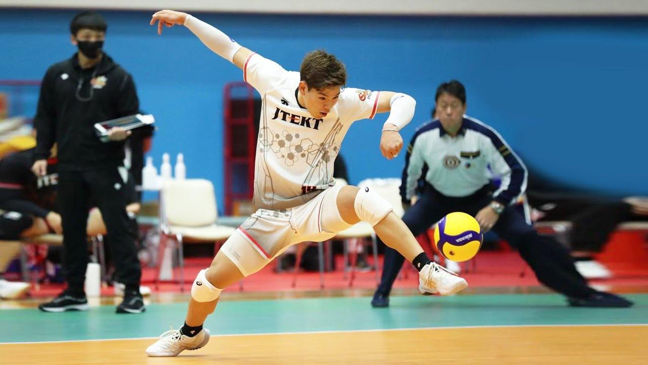 Craziest Volleyball Saves by Yuji Nishida 西田 有志 (HD)