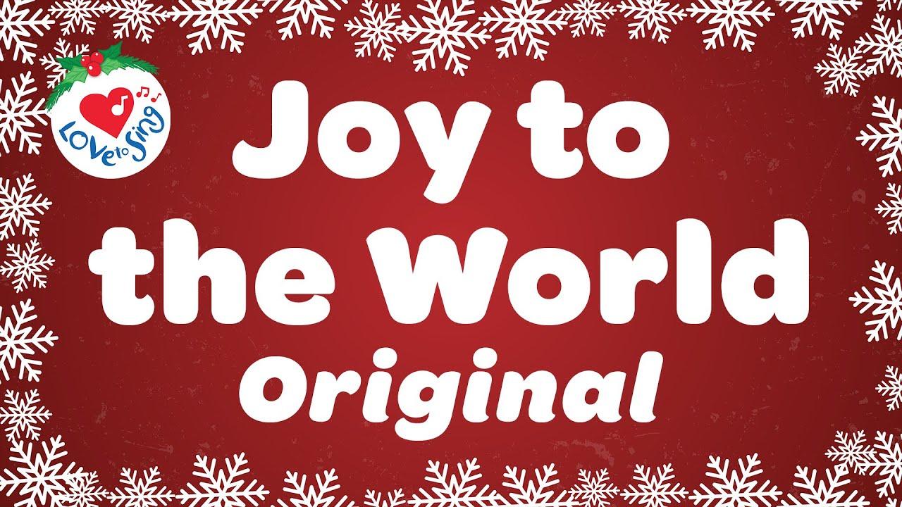 Joy to the World with Lyrics   Christmas Song 2020