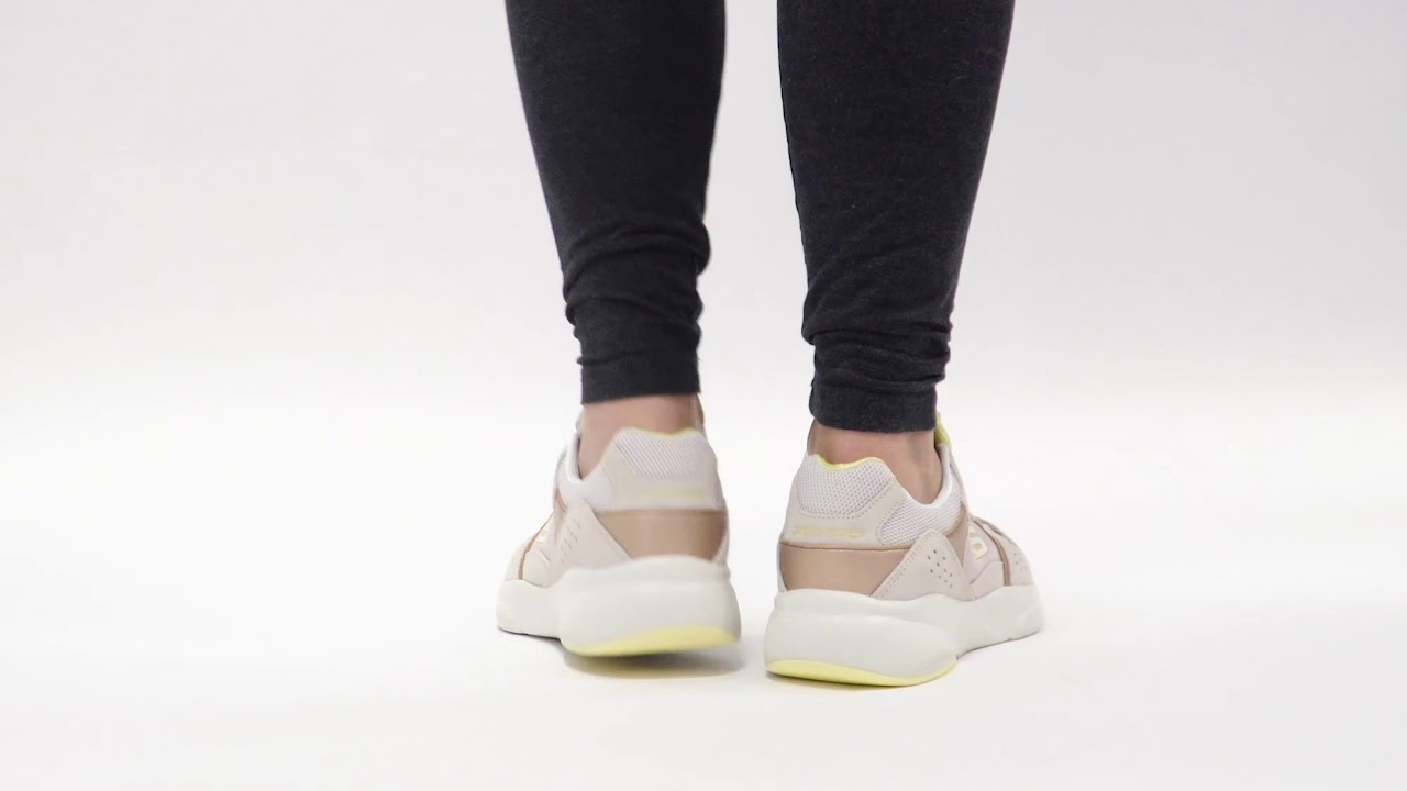 cicatriz prototipo movimiento  Shuperb™ Skechers MERIDIAN NO WORRIES 13020/TPYL Ladies Trainers  Taupe/Yellow - YouTube