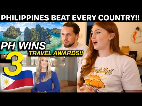 Philippines WON the WORLD TRAVEL AWARDS! Congratulations and MABUHAY! (Proud Reaction)