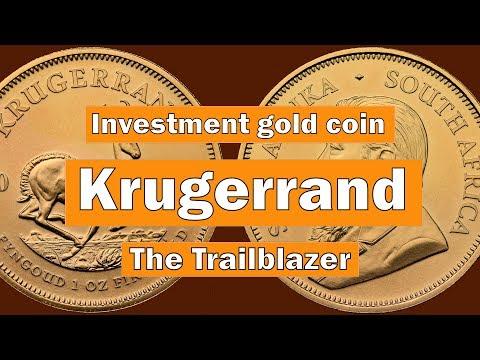 Krugerrand Investment Gold Coin - The Trailblazer