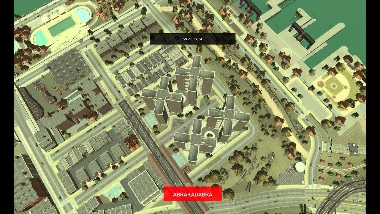 InGame WPL editor 020 Introducing new GTA IV map editing