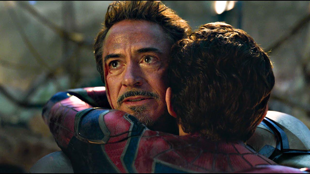 Tony and Peter Reunite Scene - Tony Hugs Peter | Avengers ENDGAME (2019) -  YouTube