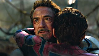 Tony and Peter Reunite Scene - Tony Hugs Peter | Avengers ENDGAME (2019)