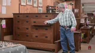 Barn Furniture - Mission Mule Chest American Made Wood Furnitre