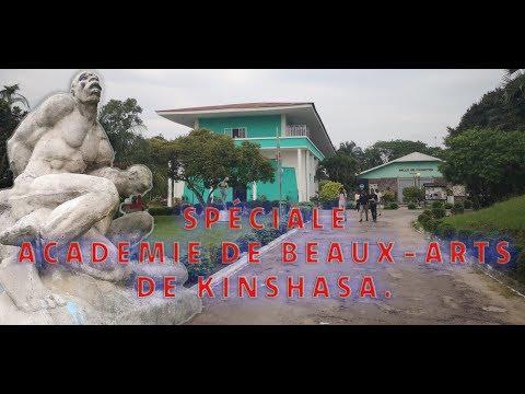 SPÉCIALE ACADÉMIE DE BEAUX-ARTS DE KINSHASA.
