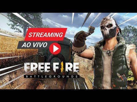 FREE FIRE BATTLEGROUNDS - LIVE MAIS ÉPICA DO CANAL & VALEU CAFIRAH