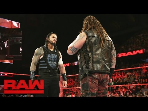 Thumbnail: Things heat up between Bray Wyatt and Roman Reigns en route to Extreme Rules: Raw, May 22, 2017