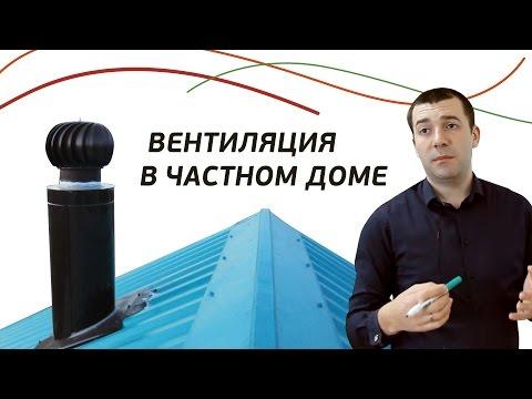 Как сделать вентиляцию в частном доме ? Подбор и расчет. Вытяжка в доме. Воздуховод для вентиляции