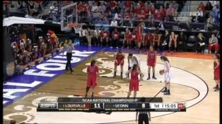 2013 NCAA Women's Basketball Championship. Final. Louisville - Connecticut
