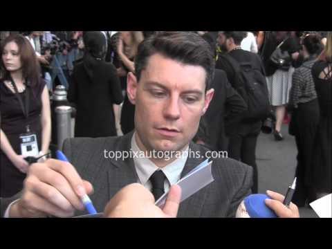 Patrick Fugit  Signing Autographs at the 2014 New York Film Festival in NYC