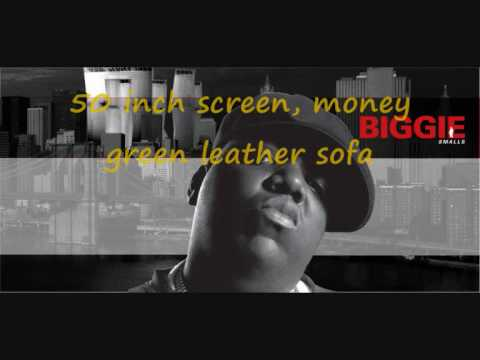 Notorious BIG - Juicy with Lyrics