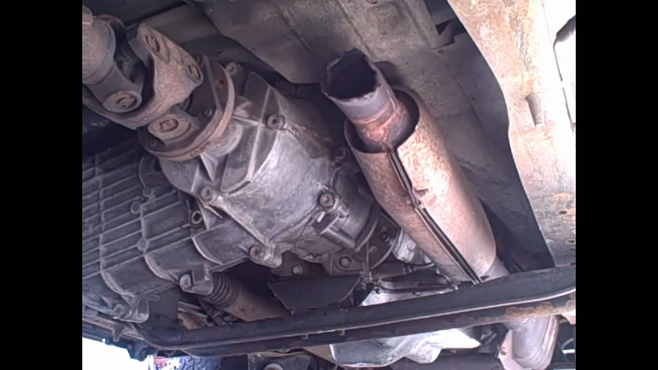 94 Ford Bronco 351 Windsor Exhaust Youtube