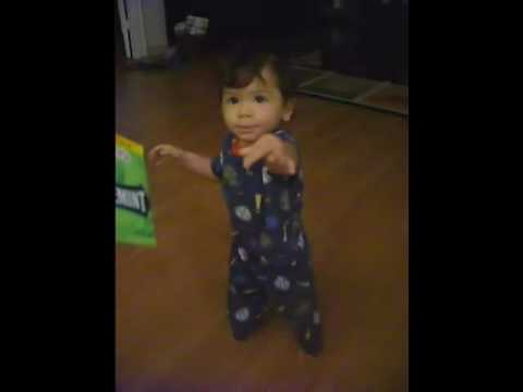 Baby Starting To Walk And Talk At 12 Months Youtube