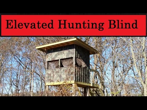 Elevated Hunting Blind