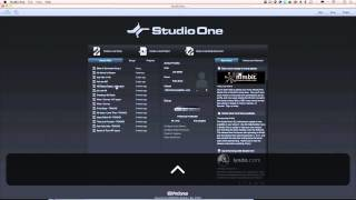 Joe Gilder's Studio One Tutorial Series Episode 2: The Start Page