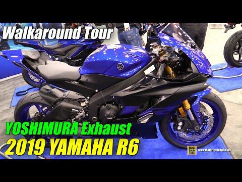 download 2019 Yamaha R6 Yoshimura Exhaust - Walkaround - 2018 AIMExpo Las Vegas