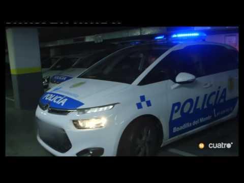 La Policía Local de Boadilla es grabada en una intervención