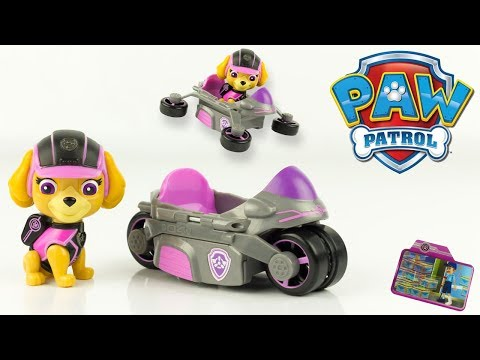 pat patrouille mission secr te stella moto drone paw patrol mission paw jouet toy review. Black Bedroom Furniture Sets. Home Design Ideas