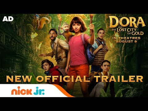 dora-and-the-lost-city-of-gold-|-official-trailer-#2-|-nick-jr.