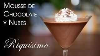 Mousse de Chocolate y Nubes Sin Horno Muy Facil