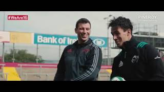 Denis Leamy welcomes Joey Carbery to Munster Rugby