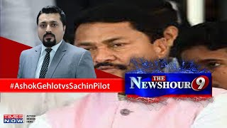 Shiv Sena wishes Nana Patole luck after he says 'Congress to go solo in future'  The Newshour Debate