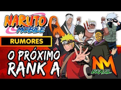 O PRÓXIMO RANK A DA ROLETA - Rumores Naruto Mobile #1