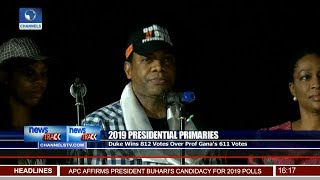 Donald Duke Emerges SDP Presidential Candidate 07/10/18 Pt.2 | News@10 |