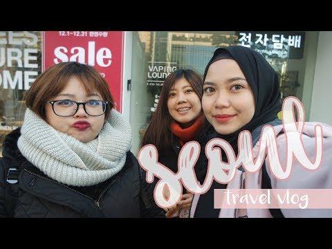 WINTER IN KOREA! | TRAVEL VLOG