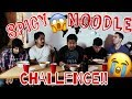 We did the Spicy Noodle Challenge and it SUCKED!