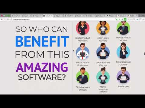 Instant Ecom Funnels Review From Real User-Instant Ecom Funnels Demo and Walkthrough Information. http://bit.ly/30DPdQ3
