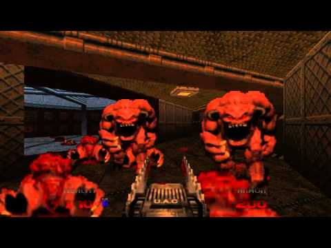 Doom 64 EX - Level 01: Staging Area