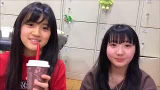 安藤愛璃菜(NMB48 チームM)中川美音 20180311 17:33