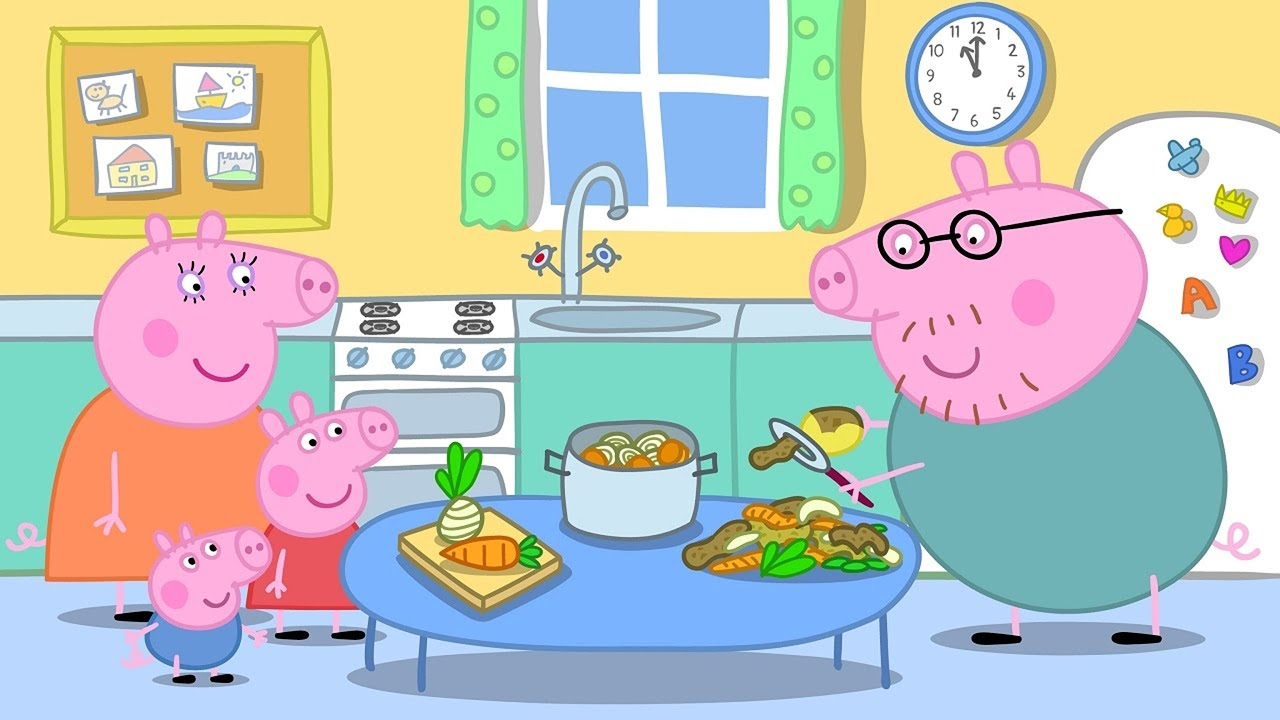 Cucina Peppa Pig Toys Peppa Pig Coloring Pages For Kids Peppa Pig Coloring Book