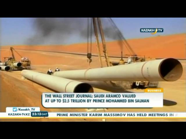 Saudi Aramco valued at up to $2 5 trillion by prince
