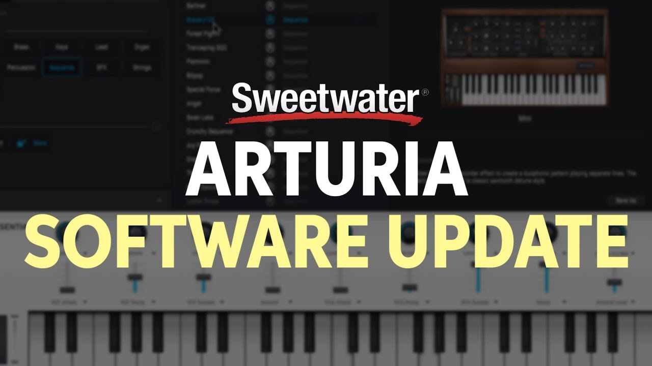 Arturia V Collection 6 - Software Update Overview