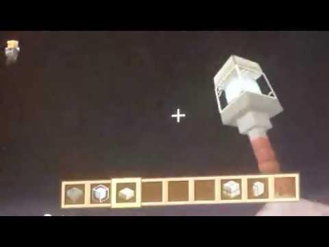 Comment Faire Un Beau Lampadaire Sur Minecraft