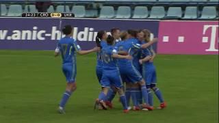 Відбір ЧС-2019. Жінки. Хорватія - Україна - 0:3. Highlights