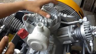 Penjelasan singkat mesin kompresor selam