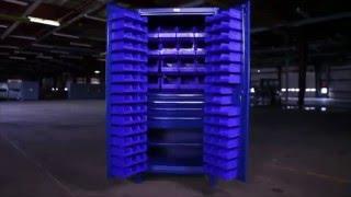 Strong Hold Bin Storage Cabinet
