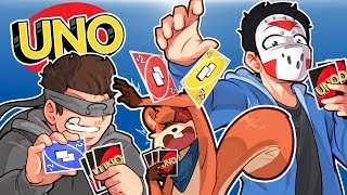 UNO - LUCKIEST 2v2 SESSION EVER!! (Poor Squirrel)