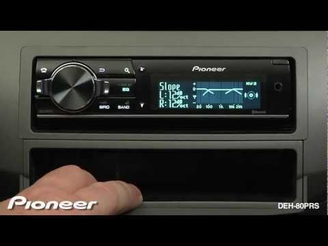 How To - DEH-80PRS - Advanced Audio Settings