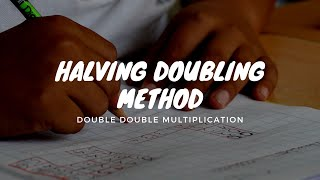 Double Double Multiplication using Halving Double Method